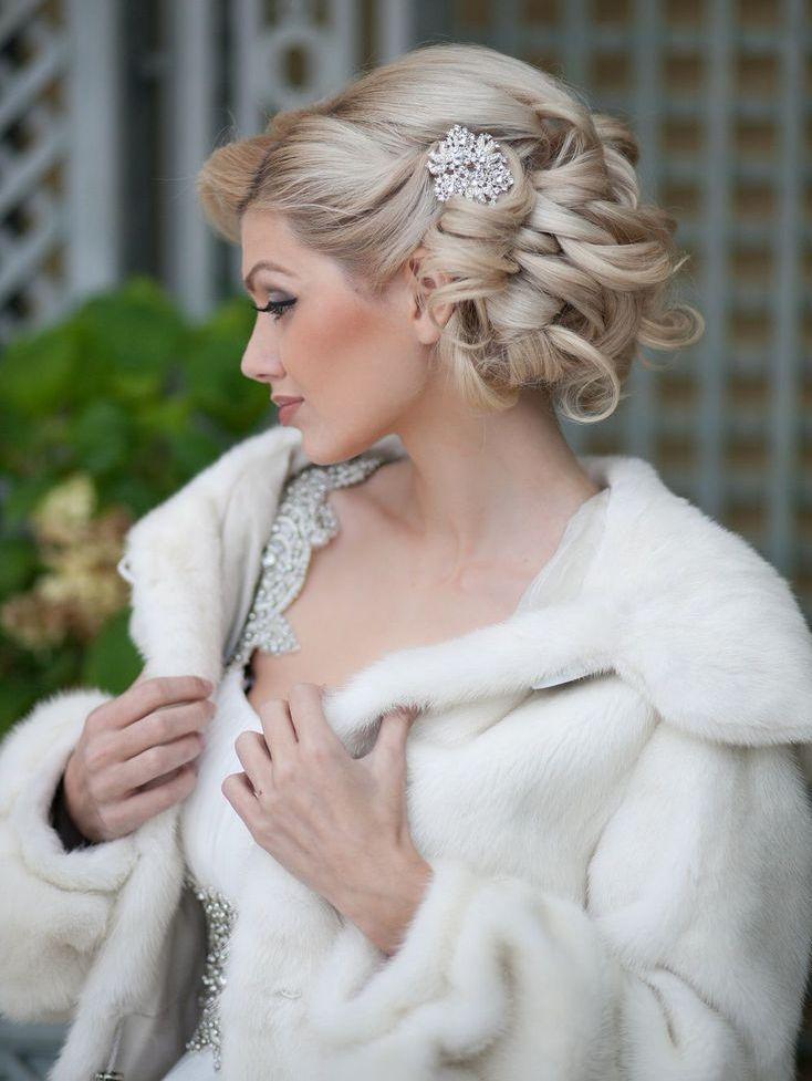 we ❤ this!  moncheribridals.com  #weddingupdo #bridalupdo #weddinghair