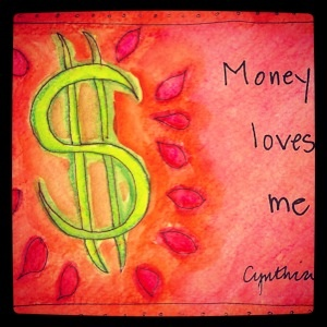 A beautiful image by Cynthia Morris that will be in my book, Wild Money!