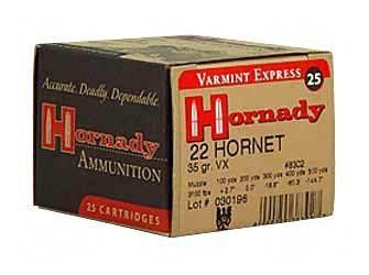 Hrndy 22 Hornet 35 Grain Weight V-max 25-250