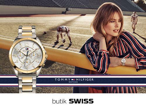 Czas zabłysnąć! Kryształki znów będą na topie. Zabłyśnij tej jesieni z nowym zegarkiem od Tommy Hilfiger. Zapraszamy do butiku SWISS.