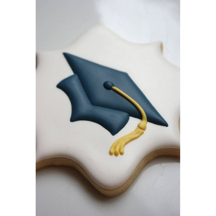 Graduation Cap cookies