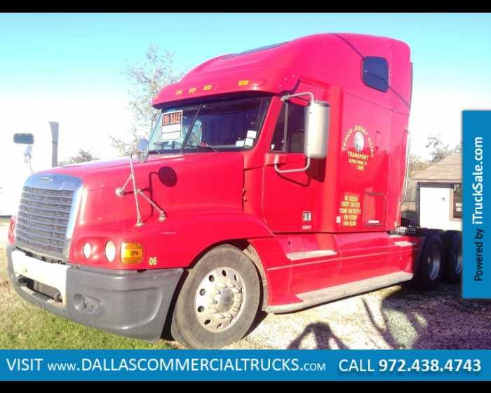2007 FREIGHTLINER FLC12064ST  TRACTOR WITH HI-RISE SLEEPER For Sale Near Dallas, TX, http://www.itrucksale.com/freightliner-flc12064st-used-irving-tx_vid_28182_rf_pi.html