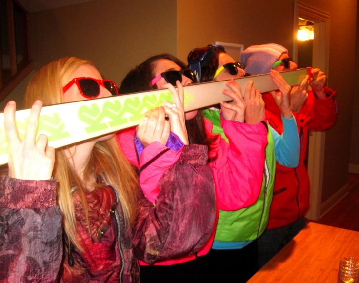 Can't ski? No worries. You can still drink, right? Here's a handy-dandy little guide to building your very own shot ski! Enjoy.