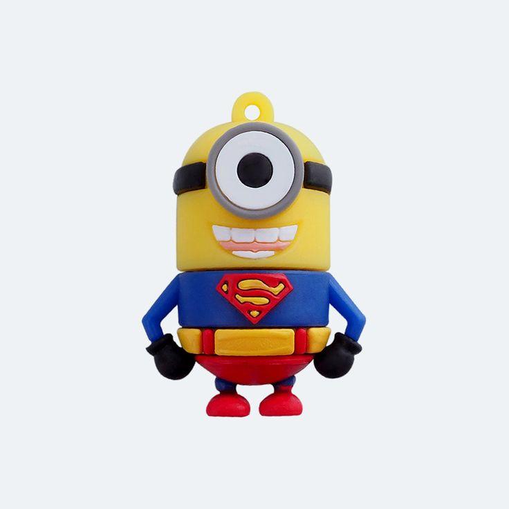 Minion Superman Pendrive