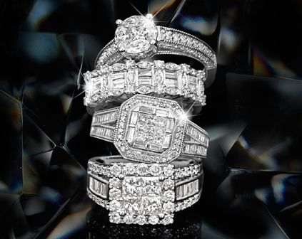 For The Woman Who Loves Her Diamonds And Wants To Show Them Off