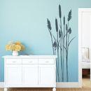 Wandtattoo - Wandtattoo Badezimmer Schilf Bambus - ein Designerstück von wandtattoo-loft bei DaWanda