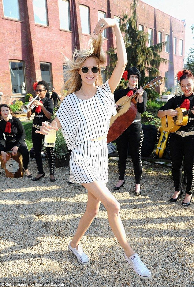 Birthday girl: Poppy Delevingne celebrated her 29th birthday at a charity fete in New York on Sunday