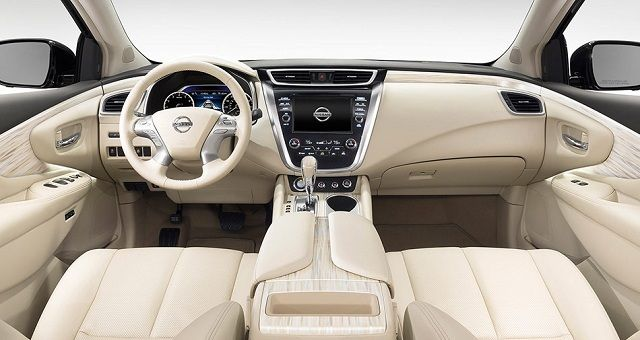 2016 Nissan Murano -interior