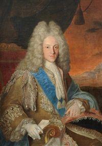 Felipe V, Rey de las Españas y de las Indias (1683-1746); by Jean Ranc.