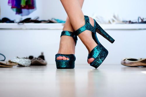 Turqua Sparkle!!: Shoes, Fashion, Idea, Style, Color, Clothes, Aqua Heel, High Heels, Glitter Heels
