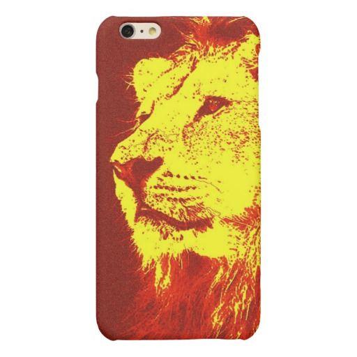 Pop Art Lion Case For iPhone 6 Plus Case