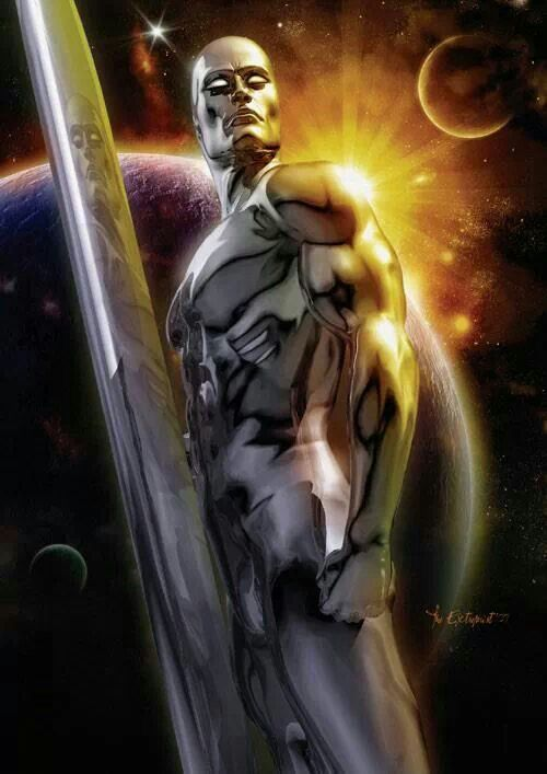 Silver Surfer This is a Awesome Drawing or Painting