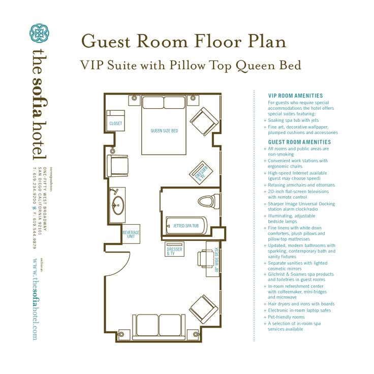 34 Best Hotel Room Plan Images On Pinterest