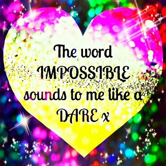 NOTHING is impossible! Nothing at all! The word itself says I'm possible! It's possible!  Wishing you all the best for your future endeavours! Here's to endless possibilities!     #motivation #DontGiveUp #wisewords #wisdom #advice #realtalk #understanding #respect #persevere #instamood #instacool #instagood #instaquote #endlesspossibility #hanginthere #allthebest #inspiration #rainbow #colour #heartthis