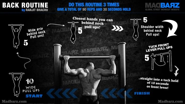 A sample #calisthenics #back #workout