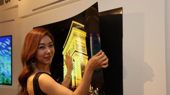 LG has unveiled a 55-inch display you can stick to a wall using just a magnet. http://www.digitaltrends.com/home-theater/lg-display-55-inch-flat-oled-panel-sticks-to-wall-with-magnet/?utm_content=bufferb7b85&utm_medium=social&utm_source=pinterest.com&utm_campaign=buffer #LG #OLEDTV