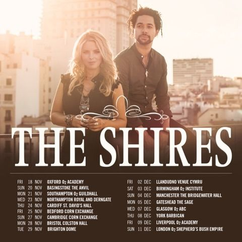 """As UK Country group The Shires release their first single """"Beats To Your Rhythm""""…"""