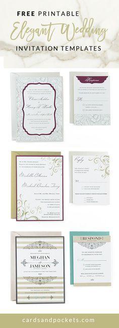 Best 25+ Free wedding invitation templates ideas on Pinterest - free wedding card template