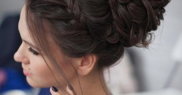 40 Most Delightful Prom Updos for Long Hair in 2016 | Curly Messy Buns, Prom Updo and Messy Buns