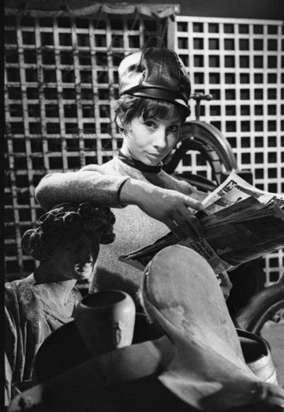 Carole Ann Ford as Susan, Doctor Who's grand-daughter in the shows early years.