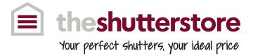 Design Your  Shutters In 4 Easy Steps - The Shutter Store