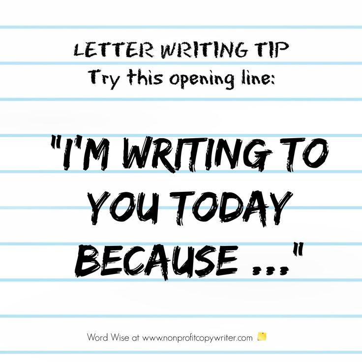 24 best Writing Tips for Thank You Letters images on Pinterest - writing donation thank you letters