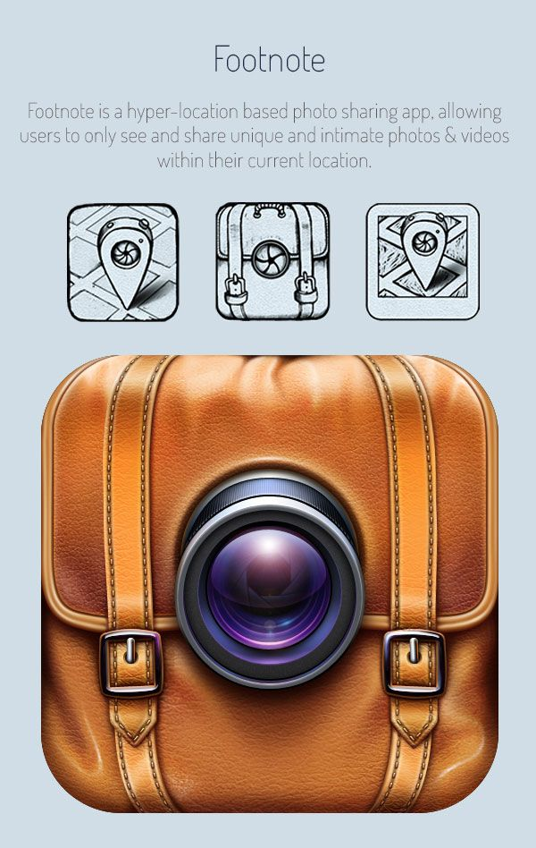 Stunning Realistic iOS App Icons Sketching for Inspiration 5 Realistic iOS App Icons & Sketching for Inspiration