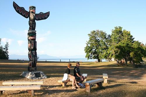 NewcastleTotem, Newcastle Island, Nanaimo BC