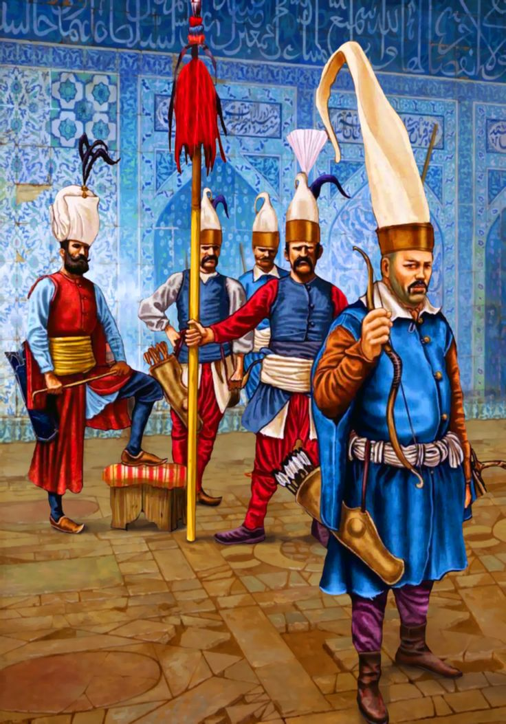 404 best Ottoman-Habsburg War Art images on Pinterest ...Ottoman Empire Janissaries