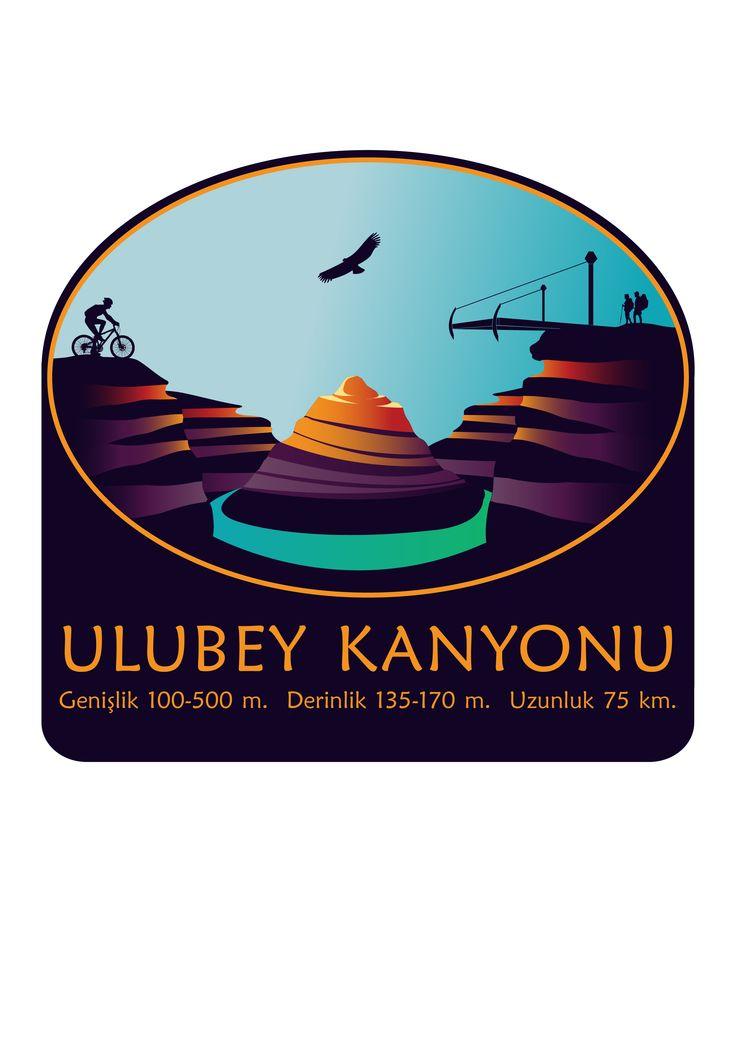 Ulubey Kanyonu Bilgi Tabelası