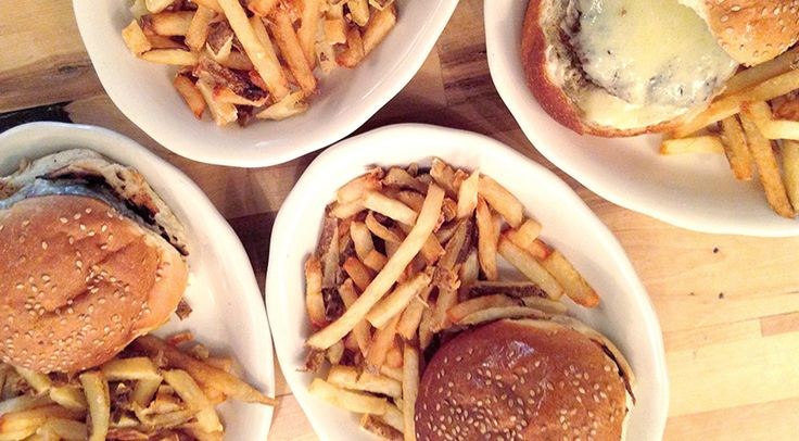 We're dying to try Rose's Bar & Grill in Brooklyn. Their burgers and fries are out of this world.