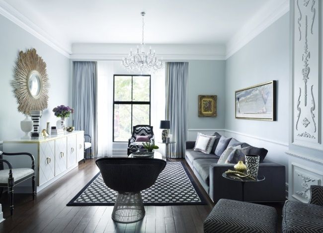62 best images about wohnzimmer on pinterest | sectional sofas ... - Wandgestaltung Grau Weis Wohnzimmer