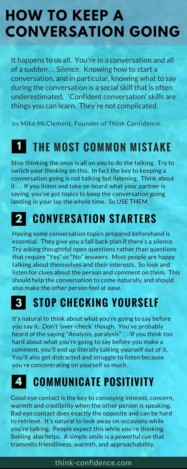 ways to keep conversation going