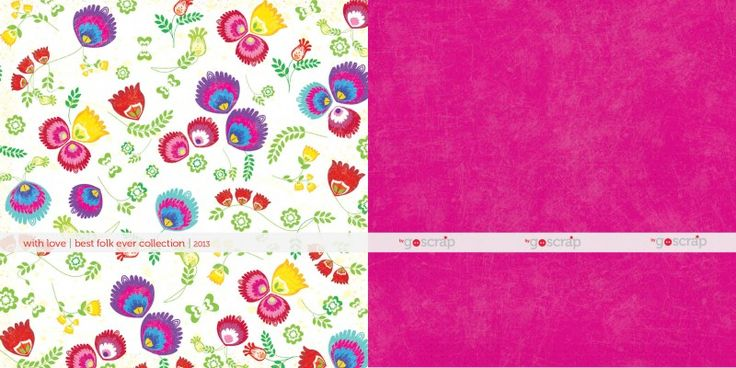 NEW COLLECTION! with love paper #scrapbooking #goscrap