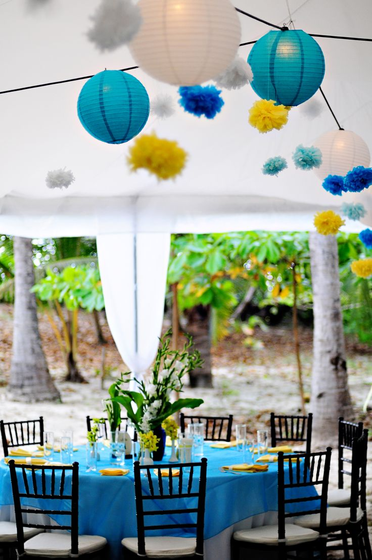 Navy blue and yellow wedding decoration ideas image collections 296 best blue and yellow wedding images on pinterest weddings junglespirit Images