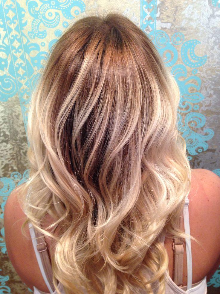 Beige Dark Blonde To Ash Blonde Ombr 233 Hairbysarahballay