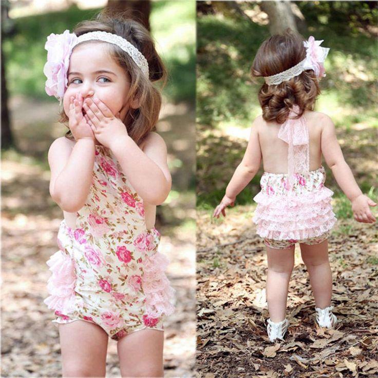 Детские новорожденных девочек лето 2 шт. наряды хлопок с бантом рюшами платья + печать Bowknots свободного покроя шорты детские детские товары одежда комплект