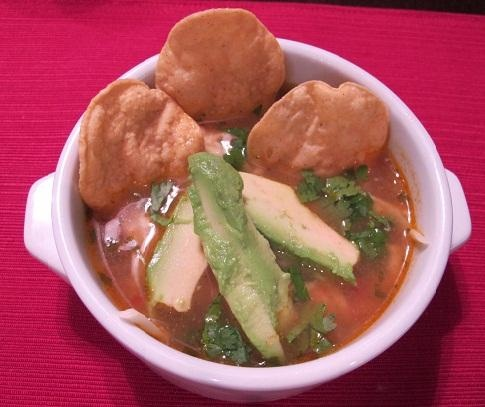 The Naughty Things I Do for Chicken Tortilla Soup from Food.com: El Fenix Restaurant is a Dallas institution open since 1913. I had my first job waiting tables there and had a bowl of this soup everyday. I won't bother you with the details of what I had to do to get this coveted recipe out of temperamental Chef Jorge... but it is illegal in about half of the states.
