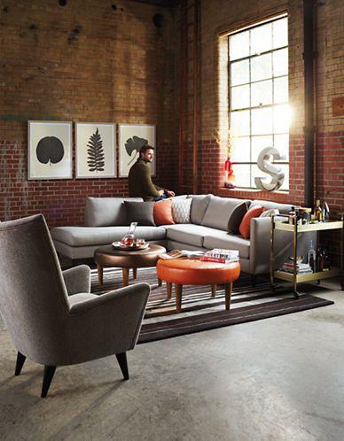 "Nashua 112"" sectional sofa | Hudson's Bay"