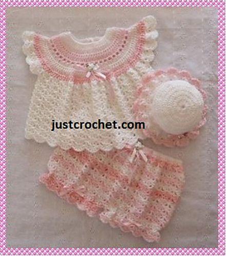 Ravelry: Baby Crochet Pattern JC114B pattern by Justcrochet Designs