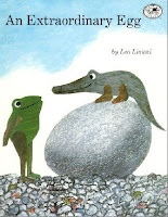 Author Showcase: Leo Lionni: Reading, Book Worth, Kids Book, Three Frogs, Chicken Eggs, Children Book, Extraordinary Eggs, They Lionni, Pictures Book