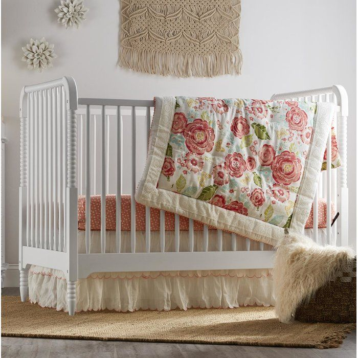 The carved solid wood frame on the Rowan Valley crib is a style derived from classic Victorian children's furniture. Each turned spindle leg and slat is painted black or white with a durable, non-toxic, water-based paint finish. The mattress base is height-adjustable for easy reach of growing children while keeping them safe. Like all Little Seeds products, this purchase helps support a major environmental initiative. Discover how this can help you and your child involve your community in…