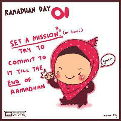 Ramadhan day 1