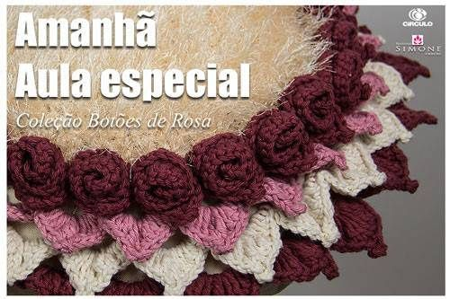 Amanhã no meu canal do YouTube às 9:00hs tem mais uma linda peça pra vocês!! Inscreva-se aqui : http://goo.gl/mcBQT2 #crochet #professorasimone #youtube #semprecirculo