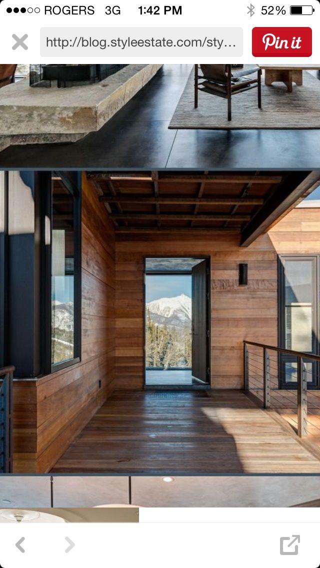 Tahoe House - Horizontal Siding