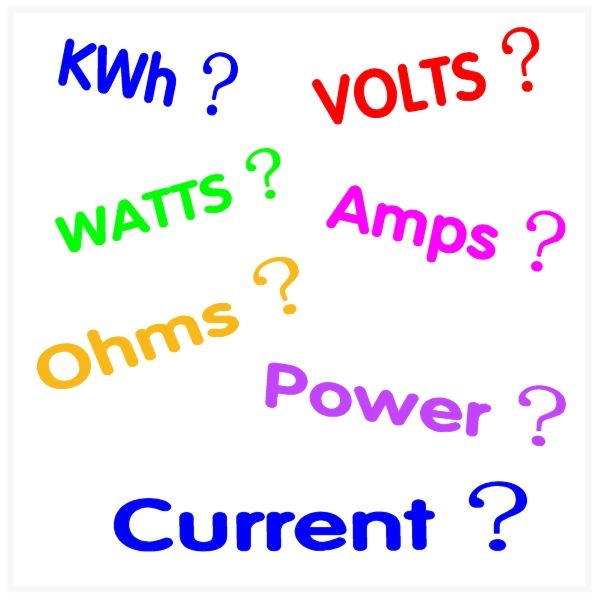 Volts, Watts, Amps, Kilowatt Hours (kWh) and Calculating the cost of running electrical appliances  - Basic electricity explained #RV #ElectricalAppliances #camping #AutoRepair #cars #wire #HomeRepair