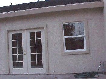 Stucco stucco trim foam trim free shipping e z do it - How to replace exterior window trim ...