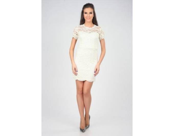 Nero su Bianco Kleid creme Jetzt bestellen unter: https://mode.ladendirekt.de/damen/bekleidung/kleider/sonstige-kleider/?uid=e77325ab-477d-5178-b287-bea9483ba653&utm_source=pinterest&utm_medium=pin&utm_campaign=boards #sonstigekleider #kleider #bekleidung