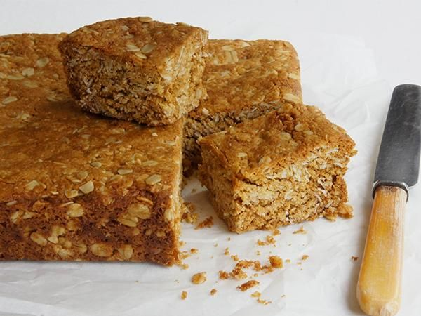 A yummy, chewy slice that is quick and easy to make. My kids love it in their lunch boxes.
