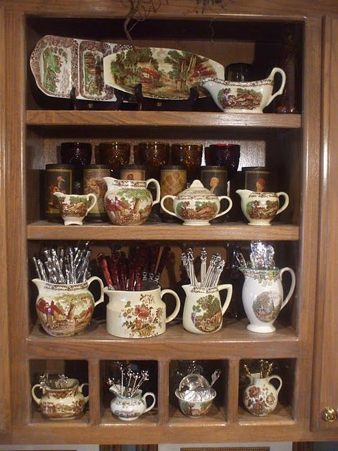 Nancy's Daily Dish: Everyday Storage Solutions with English Transfer Ware